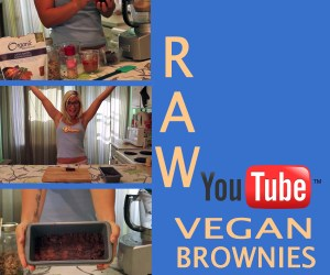 raw brownies recipe