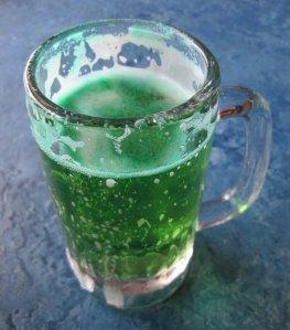 vegan green beer