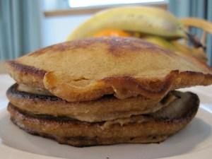 vegan beer pancakes
