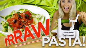 eat raw pasta