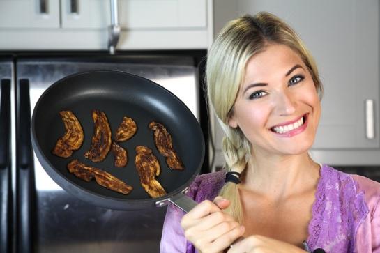 Eggplant bacon recipe