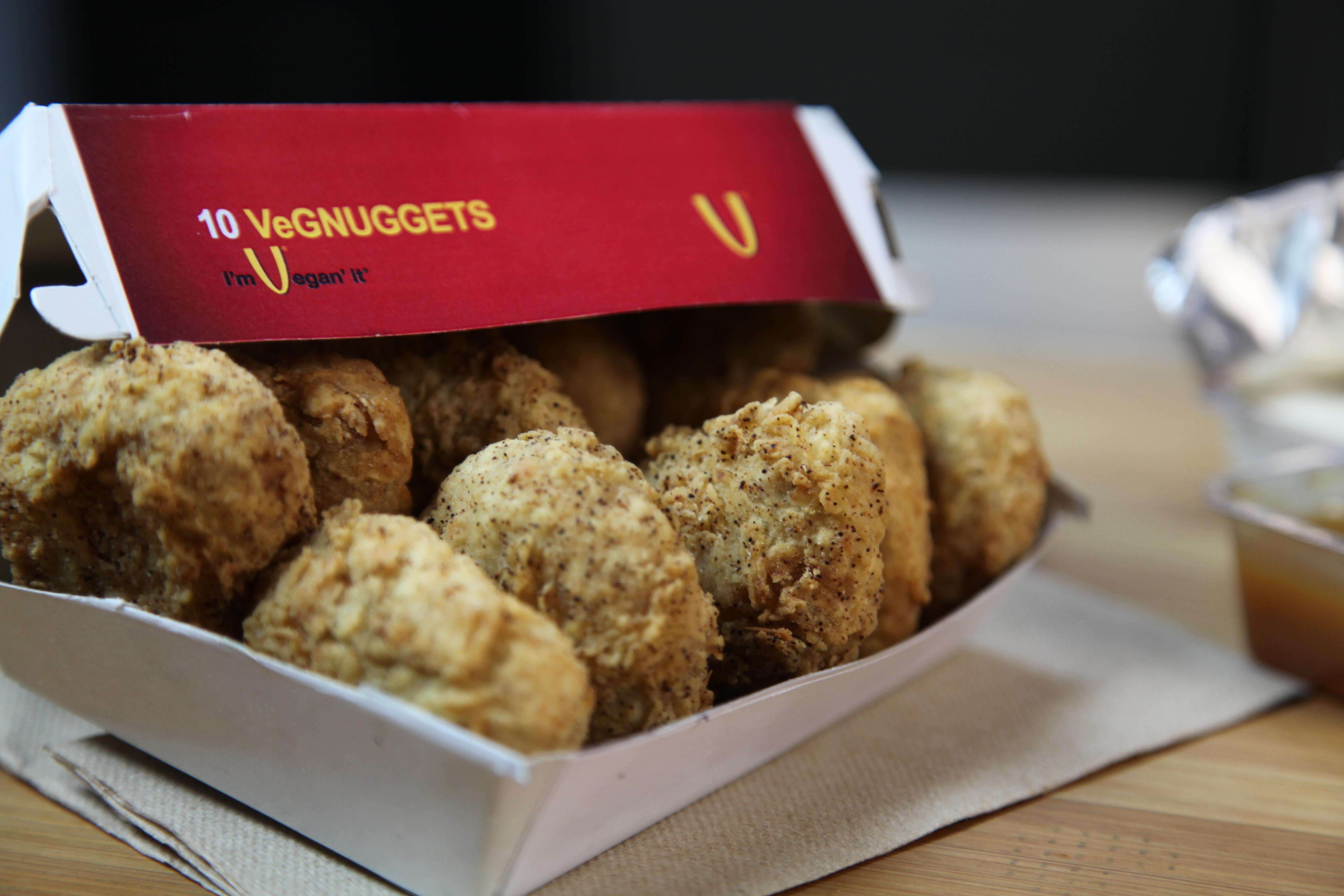 vegetarian chicken nuggets
