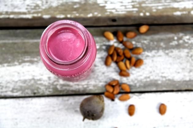 Pink milk recipe